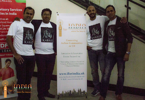 Kabali London Premiere Show