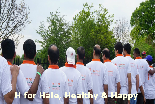 H for Hale, Healthy & Happy