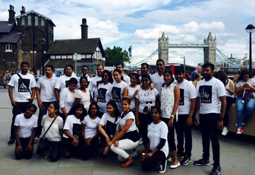 Kabali London Flash Mob